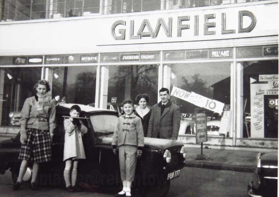 Glanfield Lawrence & Co Reliant Dealers